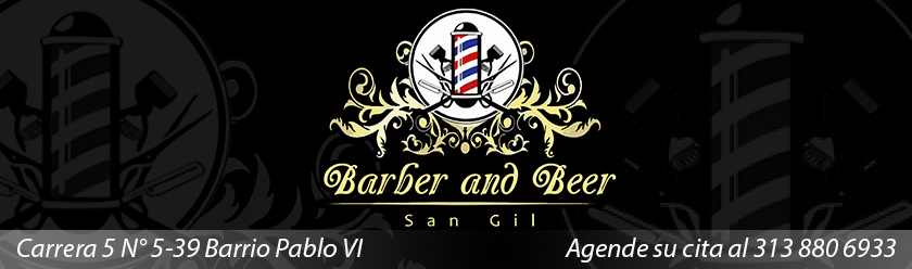 BANNER BARBER AND BEER SAN GIL